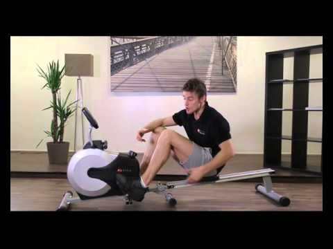 AsVIVA | Rudergerät Ergometer Rower Cardio XI Fitnessgerät | Rudermaschine