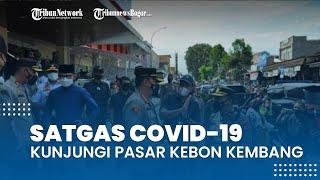 Khawatir Membeludak Jelang Lebaran, Satgas Covid-19 Kota Bogor Kunjungi Pasar Kebon Kembang