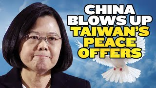 China Blows Up Taiwan's Olive Branch   India Taiwan Lovefest! thumbnail