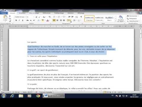 comment modifier l'interligne sur open office writer