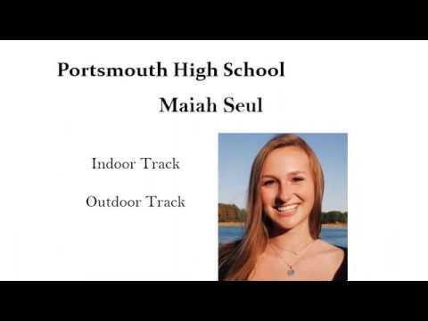 2020 Portsmouth HS NHIAA Scholar Athletes