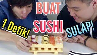 【SULAP】 Buat SUSHI 1 Detik!! with Hans The Jooomers /1秒でお寿司を握る!! 【マジック】