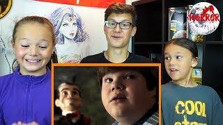 GOOSEBUMPS 2: HAUNTED HALLOWEEN Official Trailer REACTION