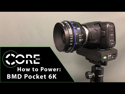 How To Power: Blackmagic Pocket 6K