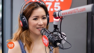 "Angeline Quinto sings ""At Ang Hirap"" LIVE on Wish 107.5 Bus"