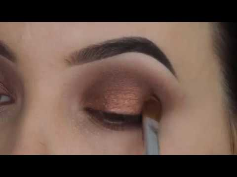 How to use Eyeshadow Lumiere Crystal Brunette