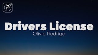 Drivers License - Olivia Rodrigo (Lyrics)