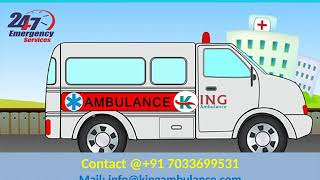 Quick and Fast King Road Ambulance in Patna and Ranchi