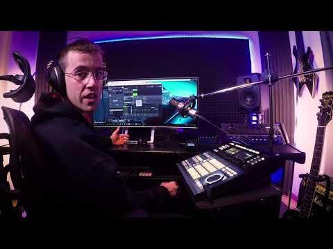 Santaflow - Produciendo rap con Maschine