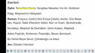 Eğitim Vadisi AYT Edebiyat 25.Föy Cumhuriyet Döneminde Roman 1 Konu Anlatım Videoları