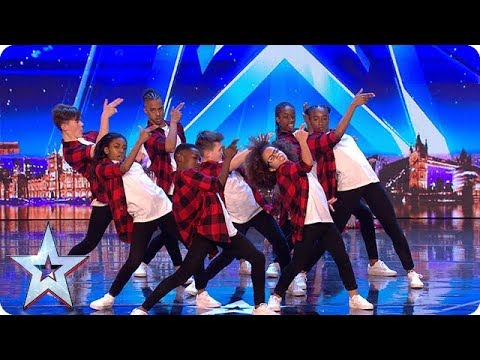 The next generation of dance legends? Meet DVJ... | Auditions Week 1 | Britain's Got Talent 2018 (видео)