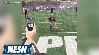 White Sox Prospect Michael Kopech Unleashes 110-MPH Throw