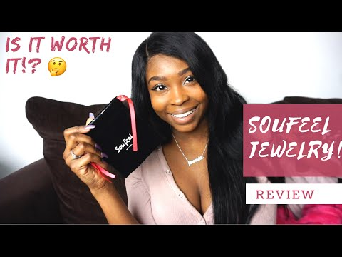 SOUFEEL Jewelry Name Necklace Review | Is It Worth It ?! | My 1st sponsorship video!