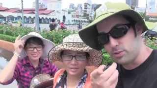 Couch Surfing World Tour - Vietnam - Part 1 - Speak Fluent English Confidently with Drew Badger