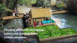 Buoyant Amenity in Indonesia – World Water Week