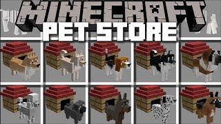 Minecraft PET STORE MOD / FRIENDLY ZOMBIE MARK MAKES A PET STORE!! Minecraft