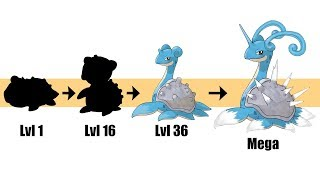 Lapras Evolution & Mega | Pokemon Gen 8 Fanart