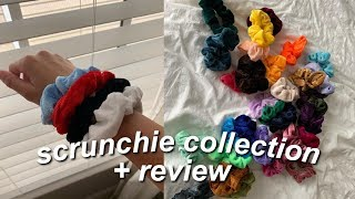 scrunchies collection // amazon review