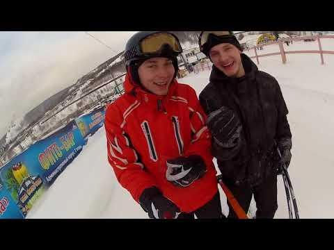 Видео: Видео горнолыжного курорта Губаха в Пермский край