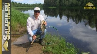 Подсачек для рыбалки с длинной ручкой