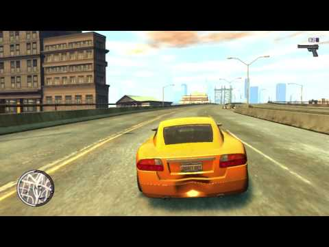Cars Going Super Fast Open Highway GTA BOGT