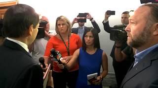 Capitol Intel films US Senator Marco Rubio berated by Infowars Alex Jones #Senate