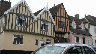 preview picture of video 'Lavenham, Suffolk, England'