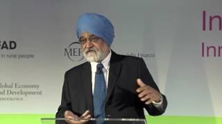 Keynote: Montek Singh Ahluwalia, former Deputy Chairman of the Planning Commission, India