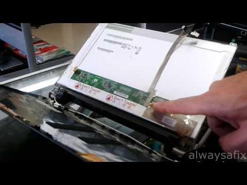 Laptop white screen repair acer