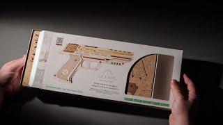 """Модель """"Пістолет Вольф-01"""" Складання"""
