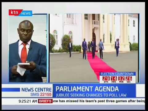 President Uhuru meets Jubilee party legislators