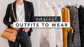 Styling Basics: The Easiest Outfits to Put Together and Style | by Erin Elizabeth