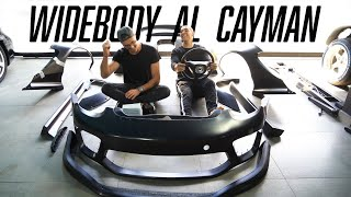 WIDEBODY AL CAYMAN! (Unboxing)