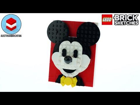 Vidéo LEGO Brick Sketches 40456 : Mickey Mouse