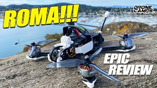EPIC DESIGN & PERFORMANCE! - DIATONE ROMA F5 Fpv Racing Drone - FULL REVIEW & FLIGHTS