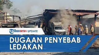 Dugaan Penyebab Ledakan Hebat di Gudang Barang Mako Brimob Semarang. Tim Dalami Penyelidikan