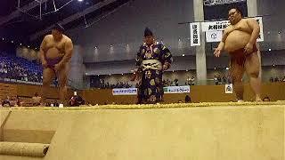貴ノ岩-千代丸平成29年大相撲秋巡業松江場所幕内取組
