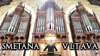 VLTAVA (MOLDAU) - SMETANA - ORGAN OF ROCHDALE TOWN HALL - JONATHAN SCOTT