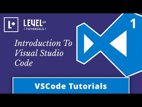 VSCode Tutorials #1 – Introduction To Visual Studio Code