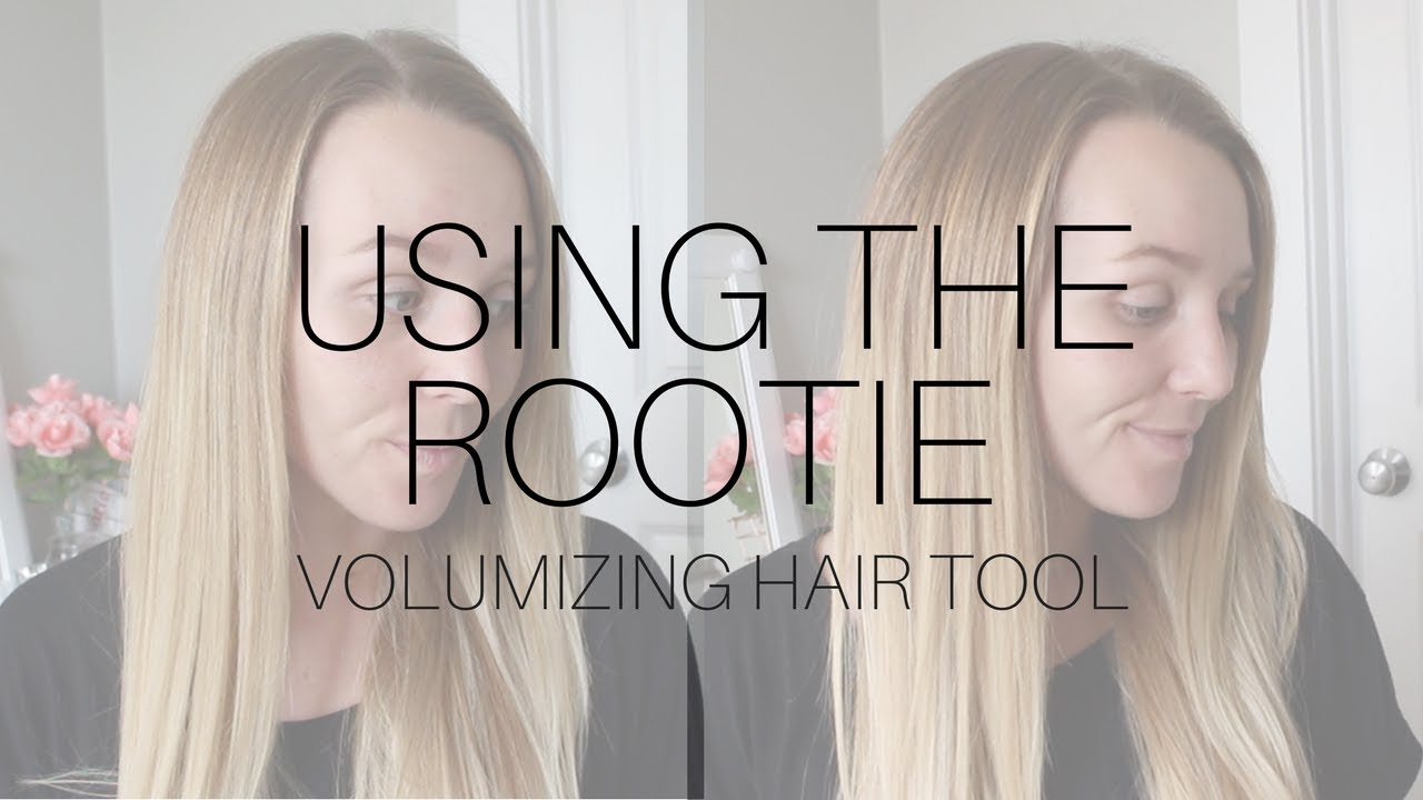 Using the Rootie Hair Volumizing Tool | BEAUTY AND BEATITUDES