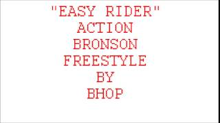 """""""Easy Rider"""" Action Bronson Freestyle by BHOP (Clean)"""