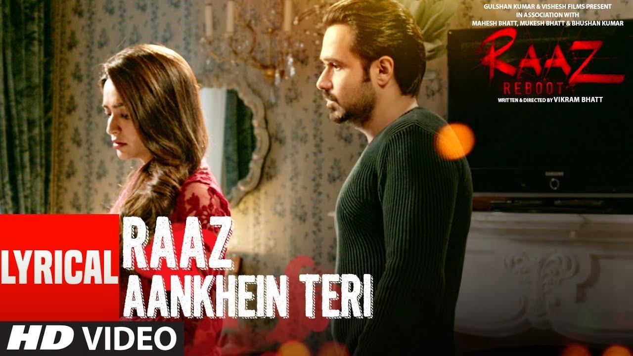 Raaz Aankhein Teri Lyrics in Hindi| Arijit Singh Lyrics