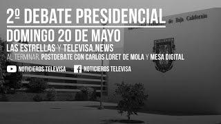 Segundo Debate Presidencial 2018 México
