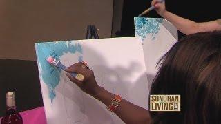 Get creative. Host a paint party, Part 1