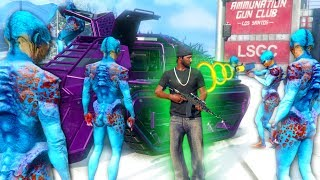 THE UP-N-ATOMIZER RAY GUN! *ALIEN TROLLING!* | GTA 5 THUG LIFE #200