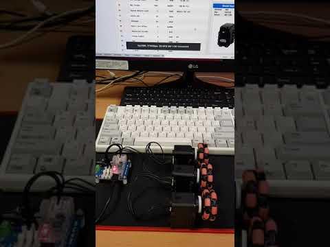 Dynamixel test 1
