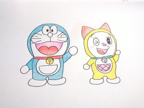 How To Draw Doraemon Dorami Cartoon Easy