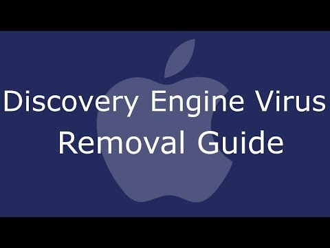 Remove Discovery Engine Virus from Mac