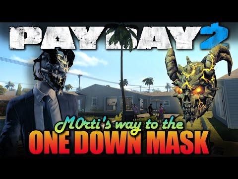 One Down - Alesso Heist - Solo, Stealth (Payday 2 - M0rti's way to