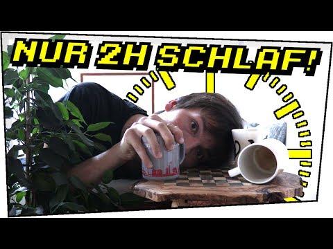 So brauchst du NUR 2 STUNDEN SCHLAF! UBERMAN Dokumentation + Fazit - Selbstexperimente #04